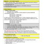 Pericarditis: Treatment and Diagnosis Pocket Card